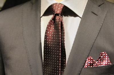 男士西装外套与领带