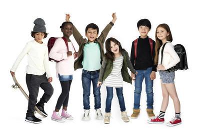 多样性的学童