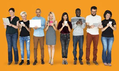 数码产品的多样性人