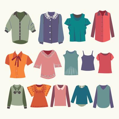 Fashion boutique  for design woman shirts