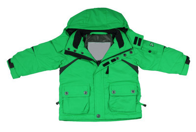 绿色的外套