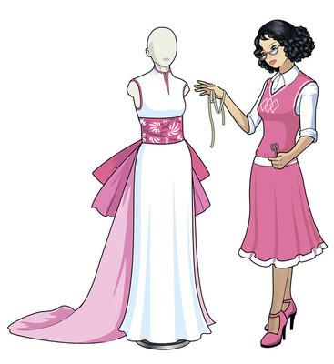 亚洲女性服装设计师的作品
