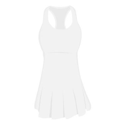 网球裙子光栅