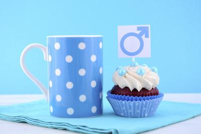 国际男装日蛋糕与男性符号