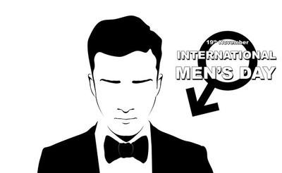 男子国际男装日的插图