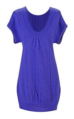 紫罗兰色礼服