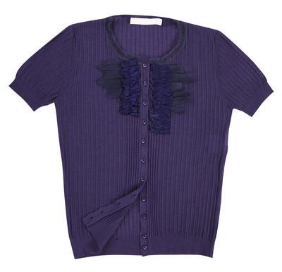 紫罗兰色衬衫