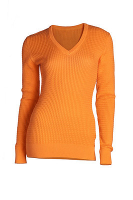 Women's  coral sweater