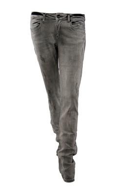黑色牛仔裤长裤