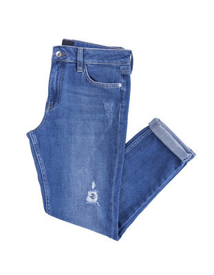 美丽的牛仔长裤