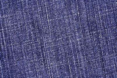 蓝色牛仔长裤