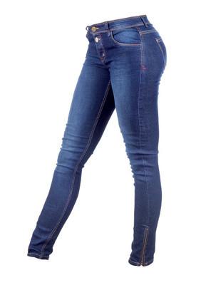 女牛仔裤长裤孤立在白色