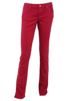红色女长裤