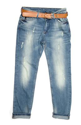 美丽的蓝色牛仔裤
