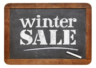 冬季甩卖黑板