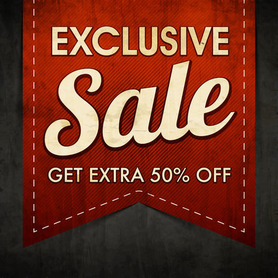 Exclusive Sale Poster, Banner or Flyer design.