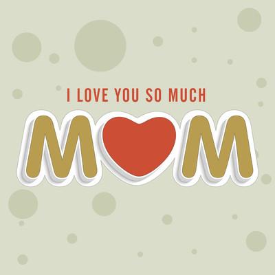 快乐的母亲节的庆祝