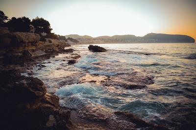 西班牙海岸线地中海