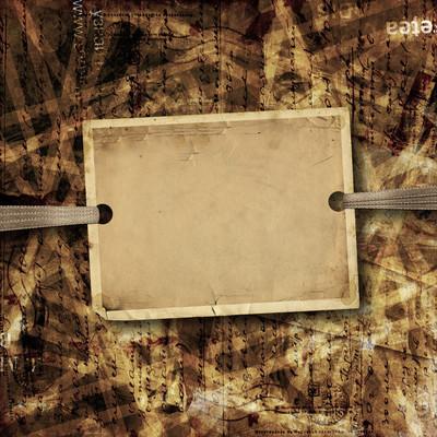 广告和广告的抽象背景张老旧纸