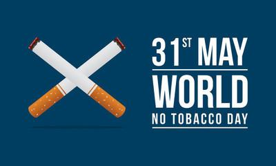 世界无烟日背景