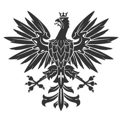 黑纹章老鹰