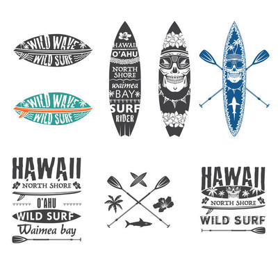 冲浪运动会徽设置 2