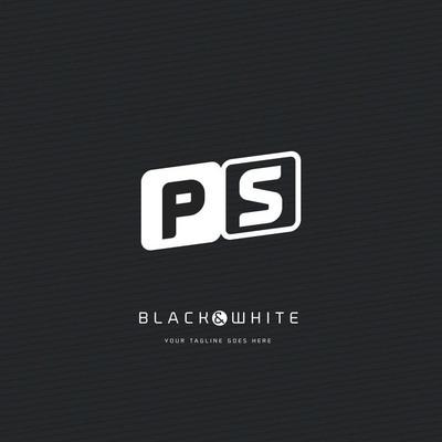 Ps 字母徽标