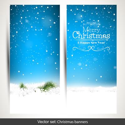 圣诞节横幅