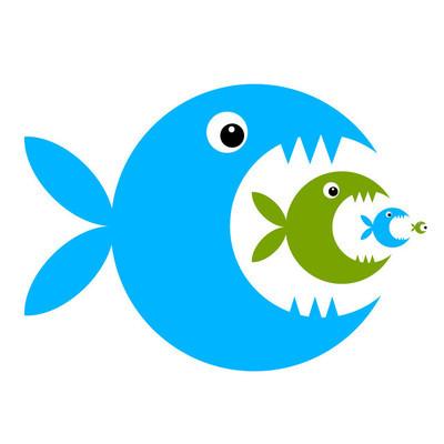 您的设计的好玩的鱼卡通