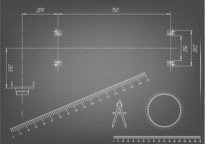 机械制造图纸上灰色的背景