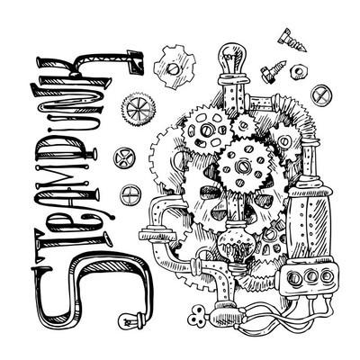 素描蒸汽朋克机制