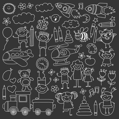 向量组的幼儿园图像