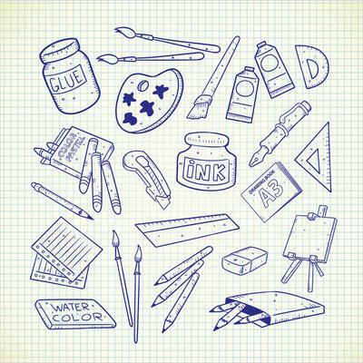 绘画、 绘图设备设置