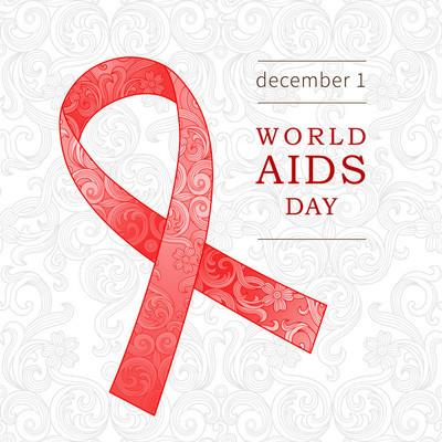 世界艾滋病日的象征
