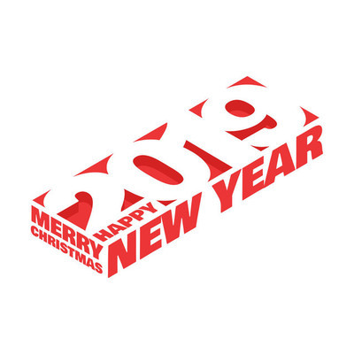 2019 快乐新年贺卡