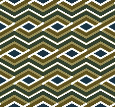 炫彩几何曲折缝花纹