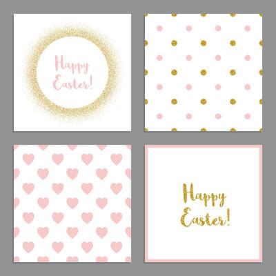可爱复活节卡片
