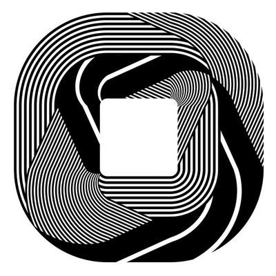抽象的设计元素。图案线条