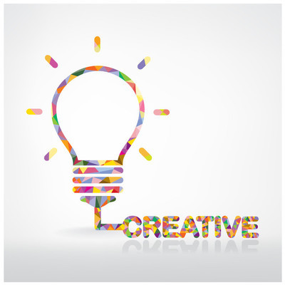 创意灯泡思想理念