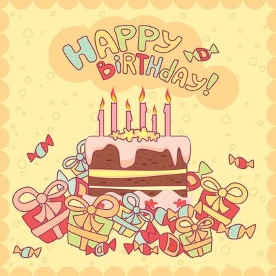 生日快乐贺卡