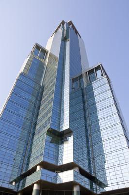 现代化的办公大楼