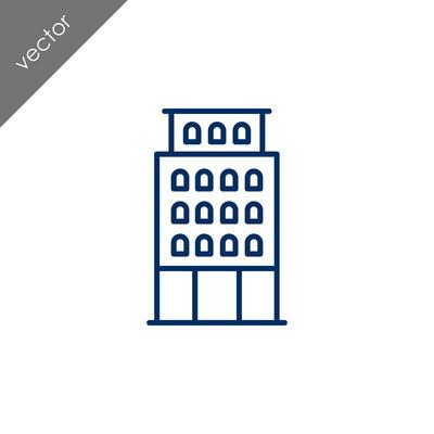 建筑平面图标,矢量图