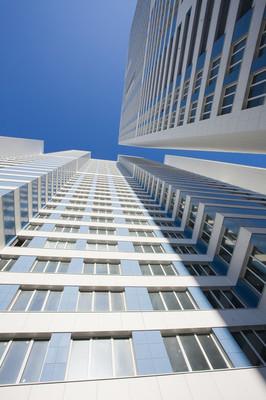 现代公寓楼