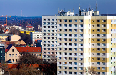 Social housing in the city of Potsdam