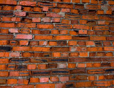 红砖墙壁背景