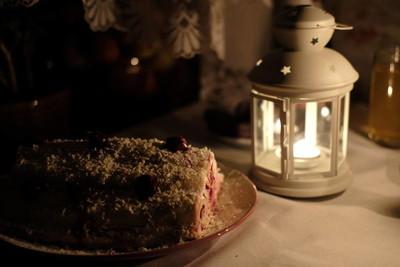 樱桃自制蛋糕