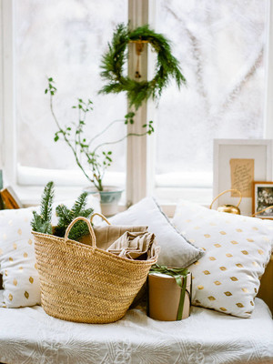圣诞节和家里的装饰