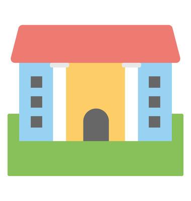 别墅矢量图标