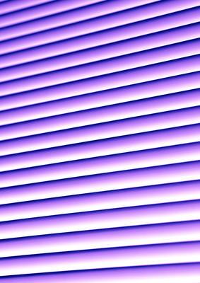紫罗兰色的窗帘