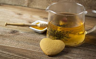 茶壶 withheart 形姜饼